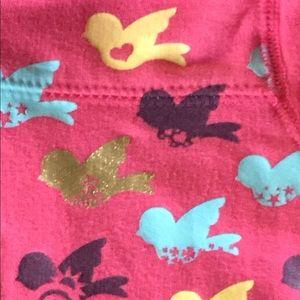 Circo Shirts & Tops - Circo Sweet Birdie SweatShirt Pink Zip Up